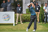 Louis Oosthuizen (RSA) watches his tee shot on 10 during round 2 of the World Golf Championships, Mexico, Club De Golf Chapultepec, Mexico City, Mexico. 3/2/2018.<br /> Picture: Golffile | Ken Murray<br /> <br /> <br /> All photo usage must carry mandatory copyright credit (&copy; Golffile | Ken Murray)