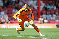 Rotherham goalkeeper, Marek Rodak in action during Brentford vs Rotherham United, Sky Bet EFL Championship Football at Griffin Park on 4th August 2018