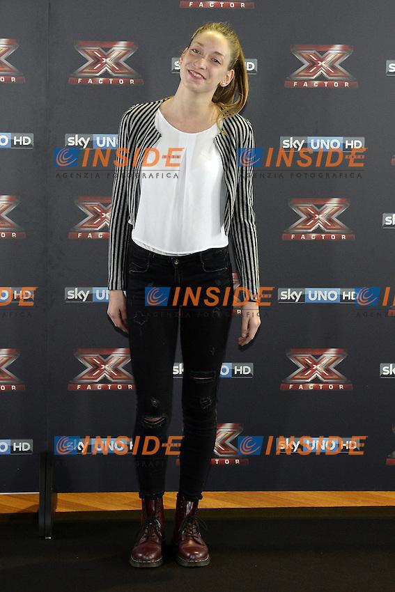 Db Milano 26/10/2016 - photocall trasmissione Tv 'X-Factor' / foto Daniele Buffa/Image/Insidefoto <br /> nella foto: Caterina Cropelli