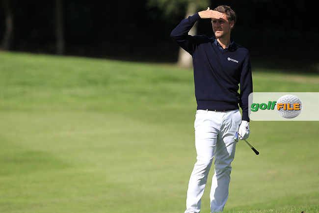 Fillippo Bergamaschi (ITA) during round 1 of the Irish Challenge, Mount Wolseley Hotel and Golf Resort, Tullow, Co Carlow, Ireland 14/09/2017<br /> Picture: Fran Caffrey / Golffile<br /> <br /> All photo usage must carry mandatory copyright credit (&copy; Golffile | Fran Caffrey)