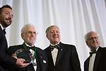 Raymon B. Fogg, Sr. accepts the Alumnus of the Year award at the Alumni Awards Gala on October 6, 2017.
