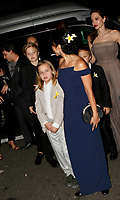 www.acepixs.com<br /> <br /> September 14 2017, New York City<br /> <br /> Director Angelina Jolie, writer Loung Ung and Jolie's children arriving at a screening of 'First They Killed My Father' at the DGA theatre on September 14, 2017 in New York City.<br /> <br /> By Line: Nancy Rivera/ACE Pictures<br /> <br /> <br /> ACE Pictures Inc<br /> Tel: 6467670430<br /> Email: info@acepixs.com<br /> www.acepixs.com