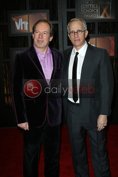 Hans Zimmer and James Newton Howard<br />at VH1's 14th Annual Critic's Choice Awards. Santa Monica Civic Auditorium, Santa Monica, CA. 01-08-09<br />Dave Edwards/DailyCeleb.com 818-249-4998