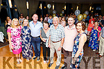 Eileen and Pat Finn from the Spa celebrating their 50th wedding anniversary in the Ballyroe Heights Hotel on Saturday night.<br /> L to r: Danielle Robinson, Aileen, Aidan, Eileen, Pat, Niall Finn and Patrice Fryers.