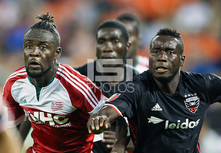 Washington,DC - Saturday, June 25 2016: DC United defeated the New England Revolution 2-0 in an MLS match at RFK Stadium.