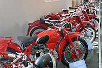 - Motoguzzi motorcycle factory, historical museum..- fabbrica di motociclette Motoguzzi, museo storico moto Guzzi