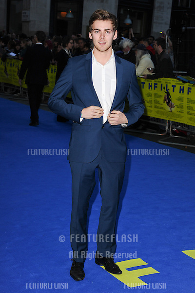 "Thomas Law arriving for the ""Filth"" premiere at the Odeon Leicester Square, London. 30/09/2013 Picture by: Steve Vas / Featureflash"