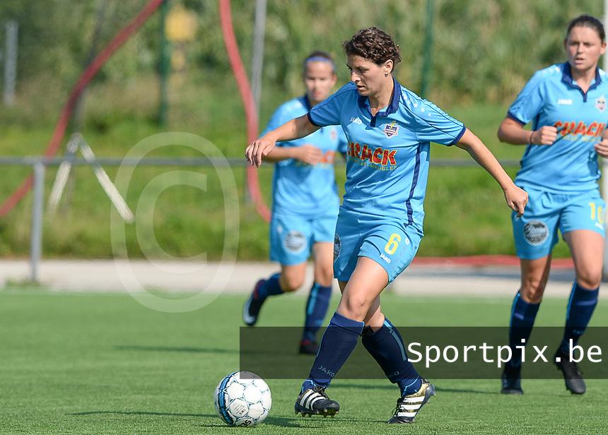 Famkes Westhoek Merkem Diksmuide - Club Brugge Dames A :  Jasmine Vanysacker <br /> Foto David Catry | VDB | Bart Vandenbroucke
