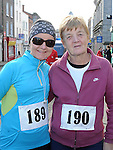 Ciara and Kitty Maxwell who took part in the Saint Vincent de Paul sponsored 5Km run. Photo: Colin Bell/pressphotos.ie