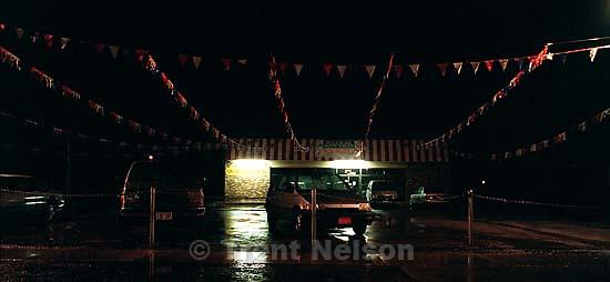 Pleasure Auto, Dave Nelson's car lot.<br />