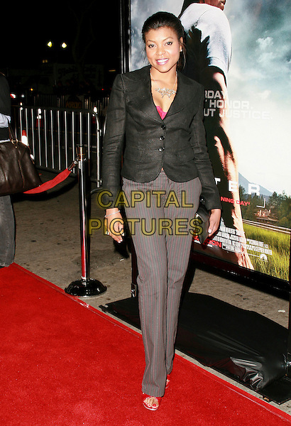 "TARAJI P. HENSON.""Shooter"" Los Angeles Premiere held at Mann Village Theatre, Westwood, California, USA, 08 March 2007..full length.CAP/ADM/CH.©Charles Harris/AdMedia/Capital Pictures."