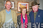 "Les Miserables : Pictured at the performance of ""Les Miserable"" in St. John's Arts Centre, Listowel on Friday evening last were Pat & Lisha Given & Bert Griffin, Listowel"