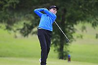 Gavin Lane (Athenry) during the Connacht U14 Boys Amateur Open, Ballinasloe Golf Club, Ballinasloe, Galway,  Ireland. 10/07/2019<br /> Picture: Golffile | Fran Caffrey<br /> <br /> <br /> All photo usage must carry mandatory copyright credit (© Golffile | Fran Caffrey)