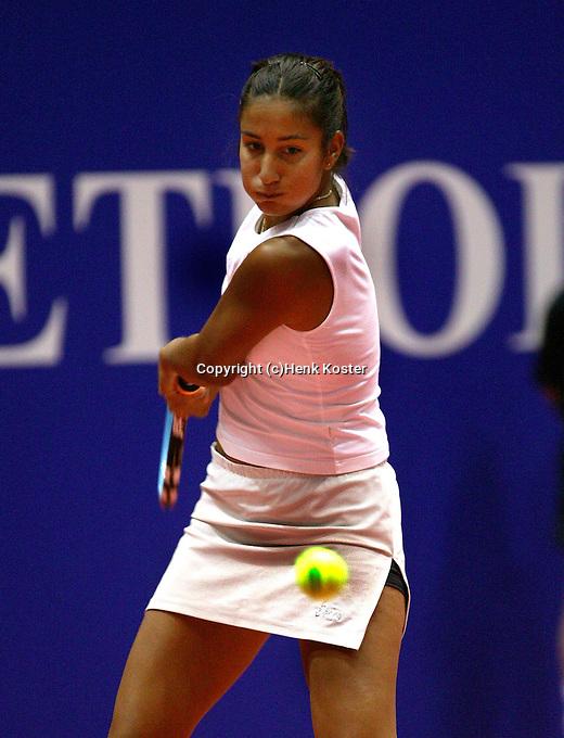 20031209, Rotterdam, LSI Masters, Elise Tamaela verslaat Jolanda Mens