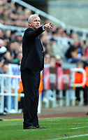 Saturday 17 November 2012<br /> Pictured: Newcastle manager Alan Pardew.<br /> Re: Barclay's Premier League, Newcastle United v Swansea City FC at St James' Park, Newcastle Upon Tyne, UK.