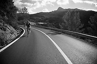 Team SKY training camp.Mallorca, january 2012