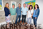 Pictured at the opening of an exhibition of work by artist Joseph Keating in The Old Oratory in Cahersiveen titled 'Town' on Friday evening last were l-r; Maura Keating-Oum, Joe.C. Keating, Joseph Keating, Michael Clifford, Mary Douglas-Magill & Catherine O'Shea.