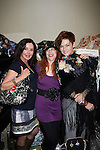 General Hospital Jackie Zeman & Carolyn Hennesy holding Jane Elissa bags and pose with Designer Jane Elissa who donates moneys to Leukemia/Lymphoma at Romantic Times Booklovers Annual Convention 2011 - The Book Industry Event of the Year - April 8, 2011 at the Westin Bonaventure, Los Angeles, California for readers, authors, booksellers, publishers, editors, agents and tomorrow's novelists - the aspiring writers. (Photo by Sue Coflin/Max Photos)