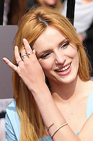 LOS ANGELES, CA, USA - APRIL 13: Actress Bella Thorne arrives at the 2014 MTV Movie Awards held at Nokia Theatre L.A. Live on April 13, 2014 in Los Angeles, California, United States. (Photo by Xavier Collin/Celebrity Monitor)
