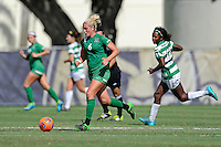 8 November 2015:  Marshall Midfielder/Forward Kelly Culicerto (6) advances the ball in the second half as the University of North Texas Mean Green defeated the Marshall University Thundering Herd, 1-0, in the Conference USA championship game at University Park Stadium in Miami, Florida.