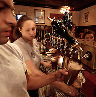 An image of bartenders at work.
