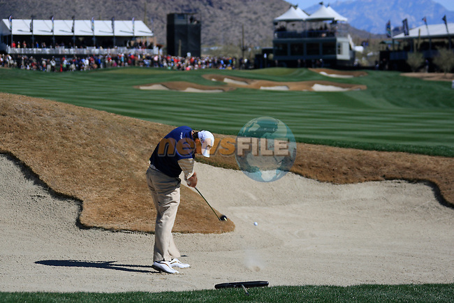 Lee Westwood (ENG) in action on the 13th hole during Day 2 of the Accenture Match Play Championship from The Ritz-Carlton Golf Club, Dove Mountain, Thursday 24th February 2011. (Photo Eoin Clarke/golffile.ie)