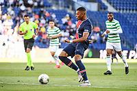 21st July 2020, Parc de Princes, Paris, France; Friendly club football, PSG versus Celtic;   Kylian MBAPPE of PSG lines up a shot on goal