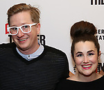 Kyle Jarrow and Lauren Worsham attends the opening night performance of the MCC Theater's 'Alice By Heart' at The Robert W. Wilson Theater Space on February 26, 2019 in New York City.