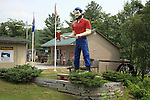 Paul Bunyan statue, Rumford, Maine, USA
