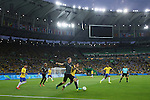 General view, <br /> AUGUST 20, 2016 - Football / Soccer : <br /> Men's Final <br /> between Brazil - Germany <br /> at Maracana <br /> during the Rio 2016 Olympic Games in Rio de Janeiro, Brazil. <br /> (Photo by YUTAKA/AFLO SPORT)