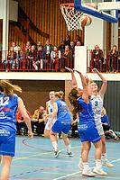 HAREN - Basketbal, Martini Sparks - Den Helder, Basketbal League vrouwen, seizoen 2018-2019, 08-11-2018,  schotpoging Martini Sparks speelster Asa Kantebeen