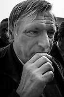"""Bologna, 21 marzo 2015. In 200mila sono arrivati nel capoluogo emiliano per la giornata contro le mafie di Libera. Don Ciotti, fondatore di Libera, dal palco nel suo discorso di chiusura ha detto; """"Nella lotta alle mafie serve coraggio"""". E ancora: """"Su corruzione e falso in bilancio occorrono leggi più determinate, corruzione e mafia sono due facce della stessa medaglia, lo dicono qui migliaia di giovani."""