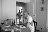 Gorzow Wielkopolski 01.07.2006 Poland<br /> Prime Minister's last days.<br /> For few weeks Prime Minister Kazimierz Marcinkiewicz had been sensing that his time was up. During his last official national tour, the PIS party committee held a debate to remove him from power. Not by accident did the Prime Minister choose the destination of his last trip to be his hometown region. He toured factories, underground bunkers, watched a football match in a local castle with Polish national team playing, met with inhabitants and ended his journey with with a homecoming visit to Gorzow. Simply, it was a farewell tour. And the last time in the role of the head of the government.<br /> ( Filip Cwik / Napo Images for Newsweek Polska )<br /> <br /> Gorzow Wielkopolski 01.07.2006 Polska<br /> Ostatnie dni Premiera.<br /> Premier Kazimierz Marcinkiewicz juz od kilku tygodni przeczuwal, ze jego polityczna kariera dobiega konca. W trakcie ostatniej podrozy sluzbowej, w siedzibie PIS trwalo posiedzenie komitetu politycznego, ktorego obradujacy zdecydowali o odsunieciu premiera Marcinkiewicza od wladzy. Nieprzypadkowo na miejsce ostatniej oficjalnej wizyty premier wybral rodzinne strony. Zwiedzal fabryki, podziemne bunkry, ogladal mecz reprezentacji Polski, spotykal sie z mieszkancami, by zakonczyc wizyte w rodzinnym Gorzowie. Premier Marcinkiewicz po raz ostatni w roli szefa rzadu.<br /> ( Filip Cwik / Napo Images for Newsweek Polska )