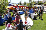 Images from a student BBQ and club fair at Western Nevada College in Carson City, Nev., on Thursday, Sept. 1, 2016. <br />Photo by Cathleen Allison