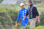 Rickie Fowler and Chris O'Donnell at Monterey Peninsula CC