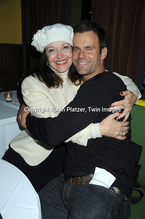 Francesca James and Cameron Mathison