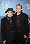 Jo Andres and  Steve Buscemi attend the Broadway Opening Night Performance of 'Bright Star' at the Cort Theatre on March 24, 2016 in New York City.