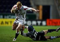 Photo: Richard Lane/Richard Lane Photography. .Scotland U20 v England U20. RBS U20 Six Nations. 07/03/2008. England's John Brake attacks.