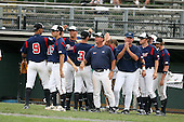 Baseball Factory players and coaches during the Cape Cod High School Classic presented by Under Armour at Spillane Field on July 27th 2007 in Wareham, Massachusetts.  (Copyright Mike Janes Photography)