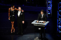 Natalie Cole, Bob Newhart, Josh Groban.Premier U.S.A. Arts High 25th Anniversary Celebration at the Ahmanson Theater in Los Angeles, California.17 April 2010.Photo by Nina Prommer/Milestone Photo