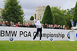 Gary Boyd (ENG) tees off on the 1st tee to start his round on Day 2 of the BMW PGA Championship Championship at, Wentworth Club, Surrey, England, 27th May 2011. (Photo Eoin Clarke/Golffile 2011)