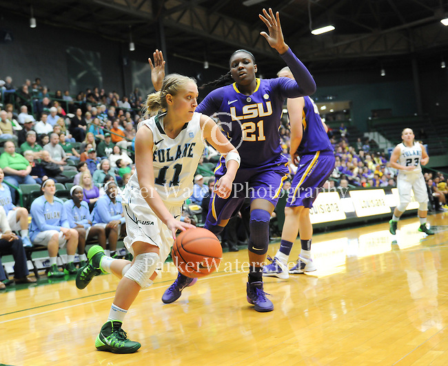 Tulane Women's Basketball falls as they play host to LSU at Devlin Fieldhouse.