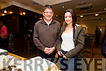 At The 1916 roadshow in Kerins O'Rahilly's Clubhouse on Saturday were James Feely and Ali Feely from Mounthawk Manor,Tralee.