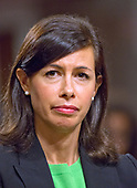 Jessica Rosenworcel testifies before the United States Senate Committee on Commerce, Science, and Transportation on her nomination to be a Member of the Federal Communications Commission on Capitol Hill in Washington, DC on Wednesday, July 19, 2017.<br /> Credit: Ron Sachs / CNP