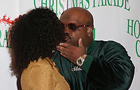 HOLLYWOOD, CA - NOVEMBER 26: Shani James, CeeLo Green, at 86th Annual Hollywood Christmas Parade at Hollywood Blvd in Hollywood, California on November 26, 2017. Credit: Faye Sadou/MediaPunch /NortePhoto NORTEPHOTOMEXICO