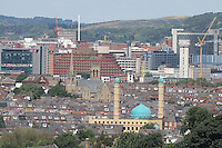 Sheffield City Centre Skyline.<br /> 26/06/2016<br /> <br /> Mandatory Credit - Alex Roebuck / www.alexroebuck.co.uk
