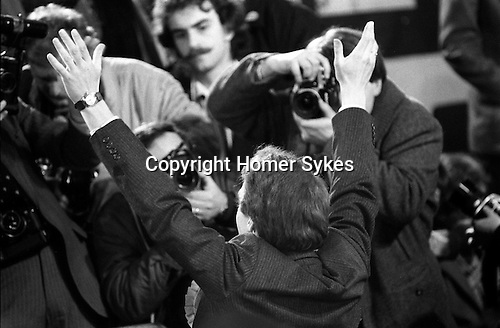Simon Hughes Bermondsey by-election  South London 1983 he has just won.  ..My ref  11a/4481/, 1983,