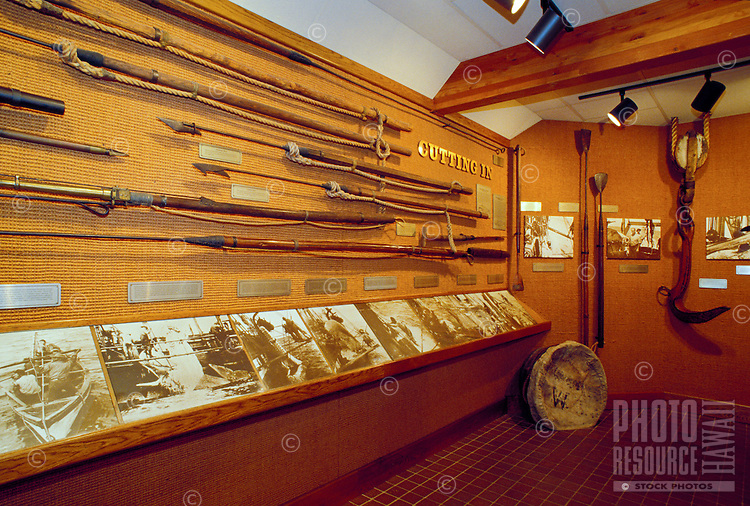 Artifacts and photographs of Lahaina's Historic whaling industry can be viewed in one of two free whaling museums in Whalers Village at the Kaanapali Resort area. Lahaina, from 1820-1860, was the whaling capital of the world.