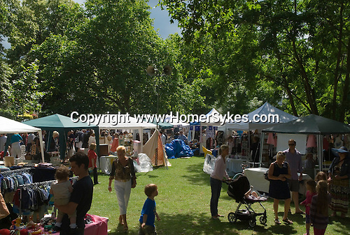 Barnes southwest London Uk. Annual summer July fair.