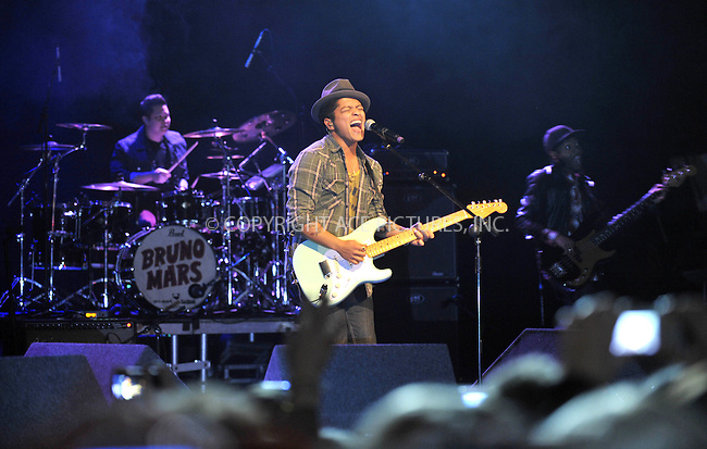 WWW.ACEPIXS.COM . . . . .  ..... . . . . US SALES ONLY . . . . .....March 13 2011, London....Musician Bruno Mars performs live on March 9 2011 in Dublin....Please byline: FAMOUS-ACE PICTURES... . . . .  ....Ace Pictures, Inc:  ..tel: (212) 243 8787 or (646) 769 0430..e-mail: info@acepixs.com..web: http://www.acepixs.com